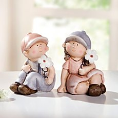 figurine set boy & girl