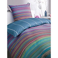 Trend cotton sateen reversible duvet cover set