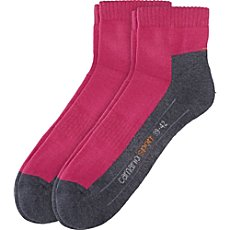 Camano  2-pk sports quarter socks