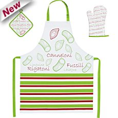 kitchen fabric set for kids, 3-parts