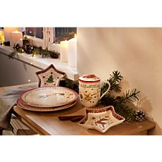 Villeroy & Boch  star shaped bowl reindeer