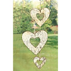 3-pk hanging decoration hearts