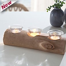 tealight holder, 4-parts