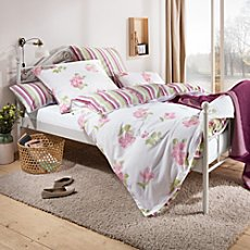 Dyckhoff soft terry towelling reversible duvet cover set