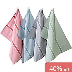 REDBEST  4-pk tea towels