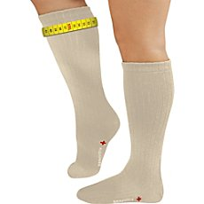 FußGut extra wide knee-high socks for swollen legs Big-Sensitve