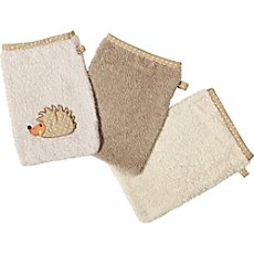 Erwin Müller  pack of 3 wash mitts