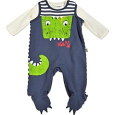 Blue Seven  top & dungarees set, 2-parts