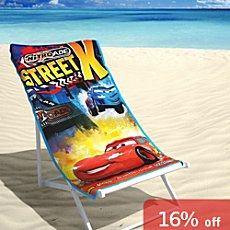 Herding  cars beach towel