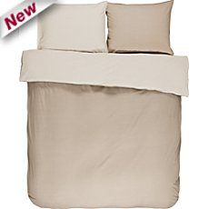 Essenza cotton flannelette reversible duvet cover set