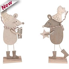 2-pk figurine mouse