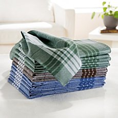 12-pk men's handkerchiefs