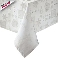 Erwin Müller jaquard damask square tablecloth