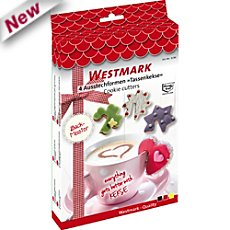 Westmark  4-pc cookie cutters