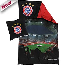 FC Bayern Renforcé reversible duvet cover set