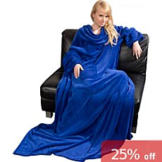 Fleuresse  blanket with sleeves