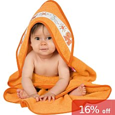 Baby Butt hooded bath towel