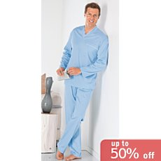 Novila interlock jersey pyjamas