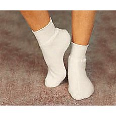 1 pair of angora bed socks
