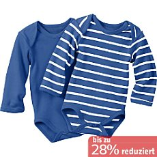 Baby Butt Langarm-Body im 2er-Pack