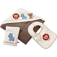 Baby Butt Walk-Frottier-Set 3-teilig