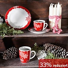 weihnachts tafel in rot erwin m ller. Black Bedroom Furniture Sets. Home Design Ideas