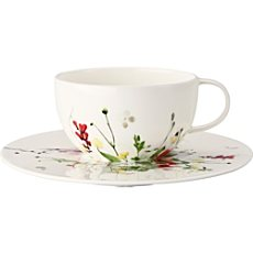 Rosenthal 2-teiliges Cappuccino-Set Selection Brillance Fleurs Sauvages