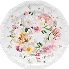 Rosenthal Selection Maria Pink Rose Brotteller