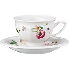 Rosenthal Selection Maria Pink Rose Espresso-Set 2-teilig