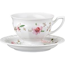 Rosenthal Selection Maria Pink Rose Kaffee-Set 2-teilig