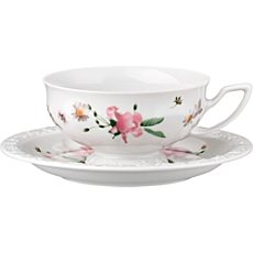 Rosenthal Selection Maria Pink Rose Tee-Set 2-teilig