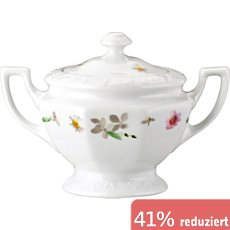 Rosenthal Selection Maria Pink Rose Zuckerdose