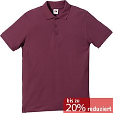 Fruit of the Loom Piqué Poloshirt  für Sie & Ihn