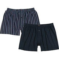 Tom Tailor Single-Jersey Boxershorts im 2er-Pack