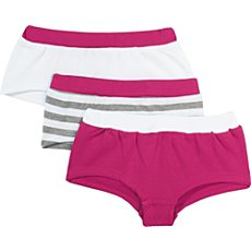 Kinderbutt Interlock-Jersey Pants im 3er-Pack
