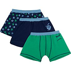 Kinderbutt Shorts im 3er-Pack