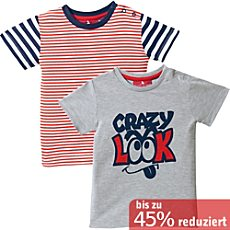 Single-Jersey T-Shirt im 2er-Pack