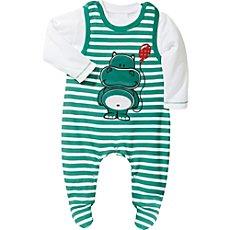 Baby Butt Interlock-Jersey Strampler-Set 2-tlg.