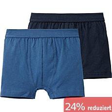Schiesser Single-Jersey Shorts im 2er-Pack