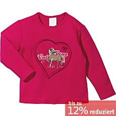 Kinderbutt Interlock Langarmshirt