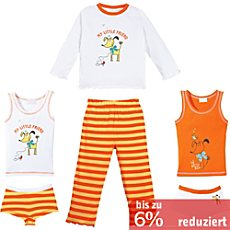 Kinderbutt Single-Jersey 6-teiliges Set