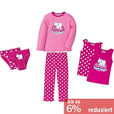 Kinderbutt Interlock-Jersey 6-teiliges Set