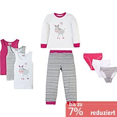 Kinderbutt Interlock-Jersey 8-teiliges Set