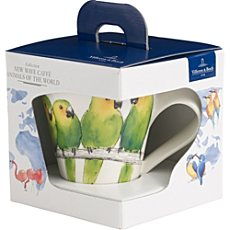 Villeroy & Boch Kaffeebecher NewWave Caffè Animals of the World im Geschenkkarton