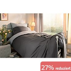 g nstige satin bettw sche 155x220 cm 80x80 cm sale bei erwin m ller. Black Bedroom Furniture Sets. Home Design Ideas