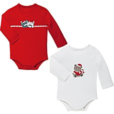 Jacky Baby Interlock-Jersey Body im 2er-Pack