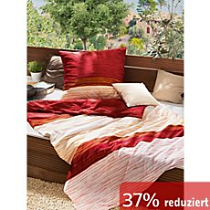 g nstige bettw sche 155x220 cm 80x80 cm in orange sale bei erwin m ller. Black Bedroom Furniture Sets. Home Design Ideas
