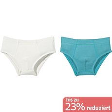 Kinderbutt Single-Jersey Slip im 2er-Pack