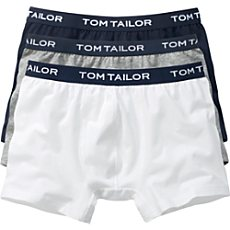 Tom Tailor Single-Jersey Pants im 3er-Pack