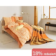 g nstige flanell bettw sche 155x220 cm 80x80 cm sale bei erwin m ller. Black Bedroom Furniture Sets. Home Design Ideas